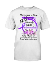 Fibromyalgia Hated Classic T-Shirt front