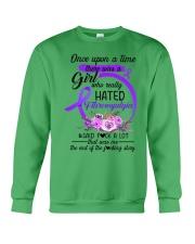 Fibromyalgia Hated Crewneck Sweatshirt thumbnail
