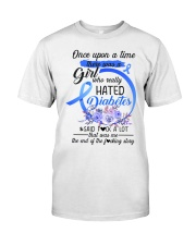 Diabetes Hated Classic T-Shirt front