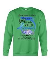 Diabetes Hated Crewneck Sweatshirt thumbnail