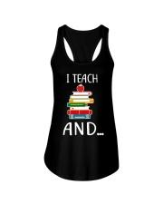 TEACHER Teach Ladies Flowy Tank thumbnail