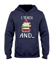 TEACHER Teach Hooded Sweatshirt thumbnail