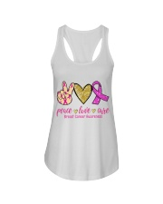 Breast Cancer Ladies Flowy Tank thumbnail