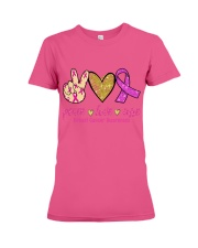Breast Cancer Premium Fit Ladies Tee thumbnail
