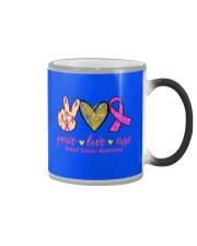 Breast Cancer Color Changing Mug thumbnail