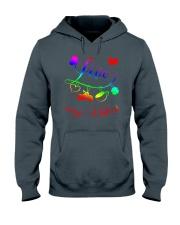 biker Love Hooded Sweatshirt thumbnail