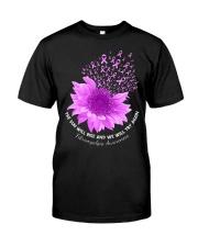 Fibromyalgia Flower Classic T-Shirt front