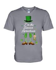 MS Leprechaun V-Neck T-Shirt thumbnail