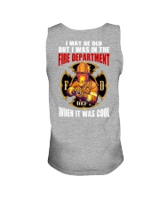 Firefighter  Unisex Tank tile