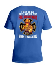 Firefighter  V-Neck T-Shirt thumbnail
