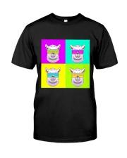 Llama Neon  Classic T-Shirt front