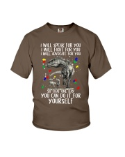 Mom I will speak for you Youth T-Shirt thumbnail