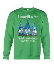 Diabetes Blue  Crewneck Sweatshirt thumbnail
