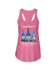 Diabetes Blue  Ladies Flowy Tank thumbnail