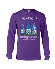 Diabetes Blue  Long Sleeve Tee thumbnail