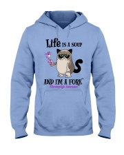 Fibromyalgia Fork Hooded Sweatshirt thumbnail