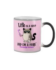 Fibromyalgia Fork Color Changing Mug thumbnail