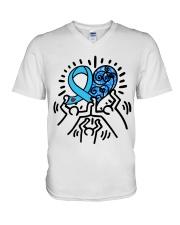 Diabetes 3 V-Neck T-Shirt thumbnail