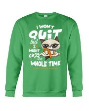 MS Cuss Crewneck Sweatshirt thumbnail