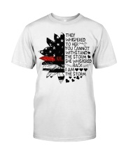 Firefighter They whispered Classic T-Shirt front