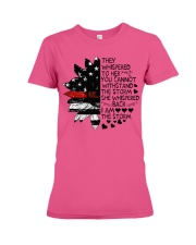 Firefighter They whispered Premium Fit Ladies Tee thumbnail
