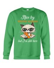 MS cat  Crewneck Sweatshirt thumbnail