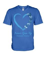 Diabetes  V-Neck T-Shirt thumbnail