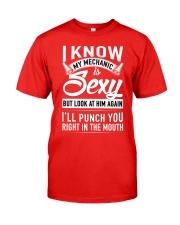 Mechanic wife Classic T-Shirt front
