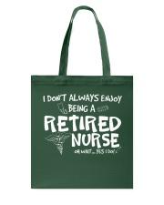 Nurse Enjoy Tote Bag thumbnail