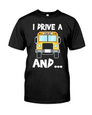 Bus Driver  Classic T-Shirt front