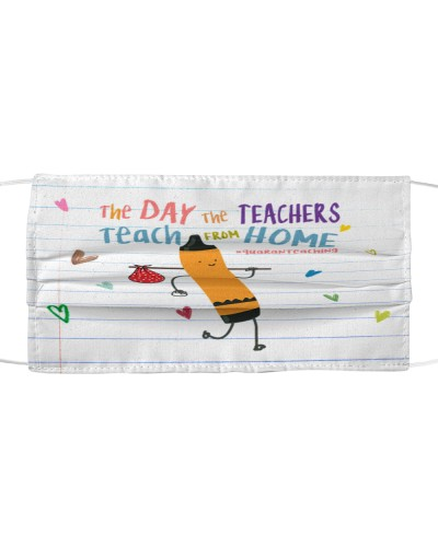 the day the teacher teach from home