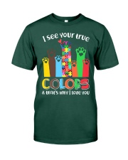 Autism that's why i love you Premium Fit Mens Tee thumbnail