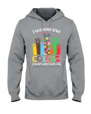 Autism that's why i love you Hooded Sweatshirt thumbnail