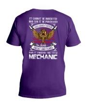 Mechanic V-Neck T-Shirt thumbnail