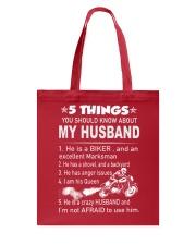 Biker Wife Tote Bag thumbnail