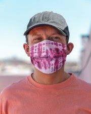 Pink Tie Dye Cloth face mask aos-face-mask-lifestyle-06