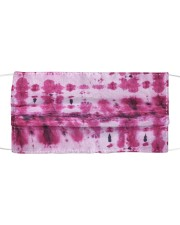 Pink Tie Dye Cloth face mask front