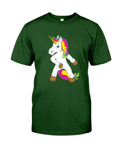 Floss Dance Unicorn Girl The Growth Lab Swish Back