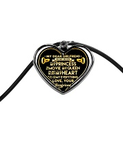 xxx Cord Heart Necklace front