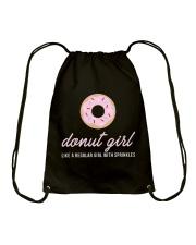Limited Edition - Donut Girl Drawstring Bag thumbnail