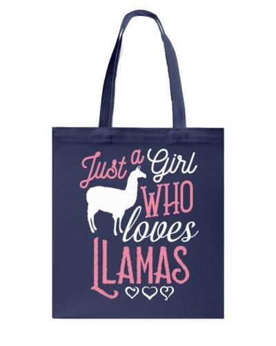 Limited Edition - Girl Who loves Llamas
