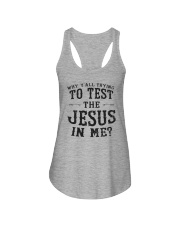 Test the Jesus in me Ladies Flowy Tank thumbnail