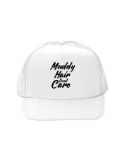 MUDDY HAIR DON'T CARE Trucker Hat tile