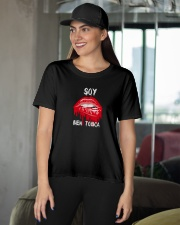 soy bien toxica  Ladies T-Shirt apparel-ladies-t-shirt-lifestyle-front-07