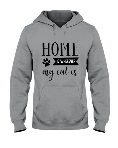 Home Is Wherever My Cat Is