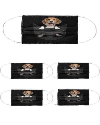 Cute Beagle Pocket