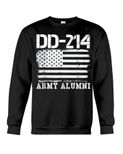 Dd214 Army Alumni Distressed Vintage T Shirt Veter Crewneck Sweatshirt thumbnail