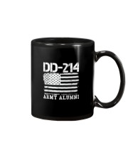 Dd214 Army Alumni Distressed Vintage T Shirt Veter Mug thumbnail