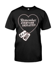 Distressed RED Friday T Shirt Remember Everyone De Classic T-Shirt front
