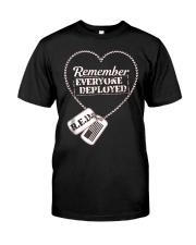 Distressed RED Friday T Shirt Remember Everyone De Premium Fit Mens Tee thumbnail